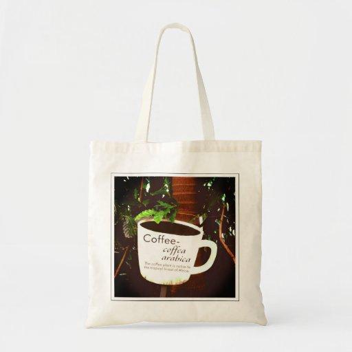Coffee Arabica tote bag