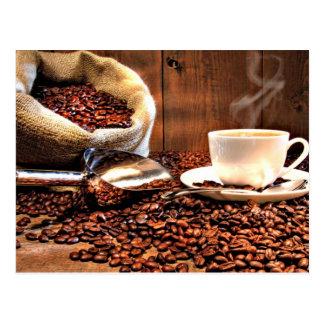 Coffee Aroma Postcard