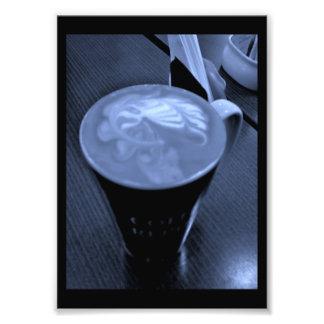 Coffee Art Photo Print