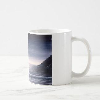 Coffee at the beach coffee mug
