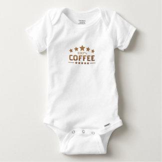 coffee baby onesie