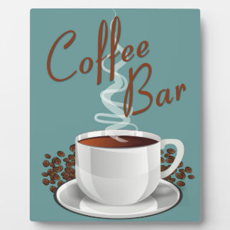 Coffee Bar Sign Plaque