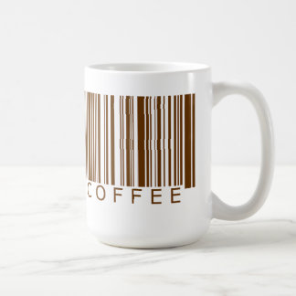 Coffee Barcode Coffee Mug