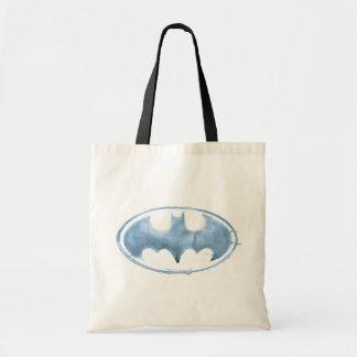 Coffee Bat Symbol - Blue Budget Tote Bag