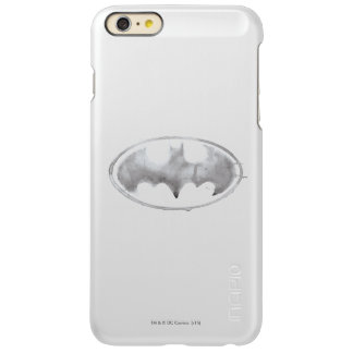 Coffee Bat Symbol - Gray Incipio Feather® Shine iPhone 6 Plus Case