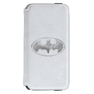 Coffee Bat Symbol - Gray Incipio Watson™ iPhone 6 Wallet Case