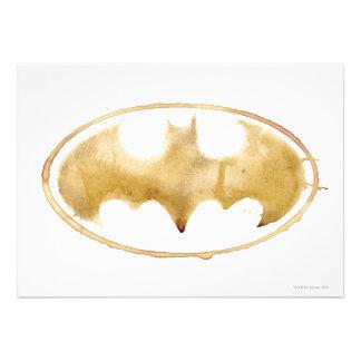 Coffee Bat Symbol Invites
