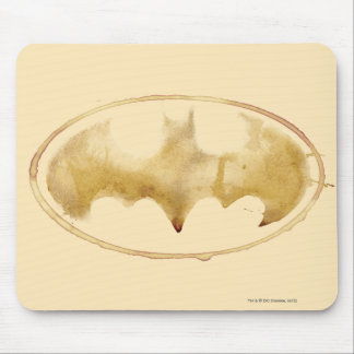 Coffee Bat Symbol Mouse Pad