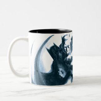 Coffee Batman Two-Tone Coffee Mug