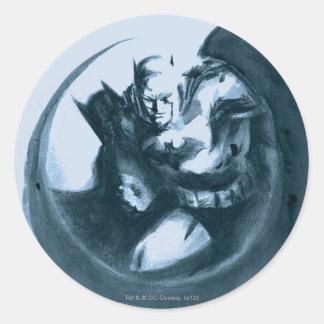 Coffee Batman Sticker