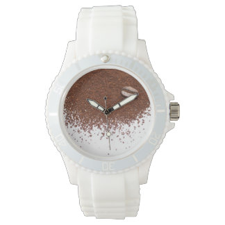 Coffee Bean and Coffee Wrist Watches