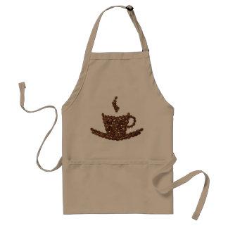 Coffee Bean Apron. Coffee shop. Kitchen. Home Standard Apron