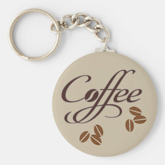 Coffee Bean Key Chain