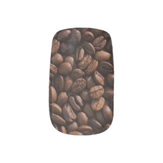 Coffee Bean Nail Art