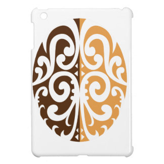 Coffee Bean with Maori Motif iPad Mini Cases