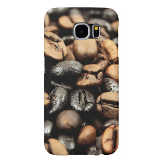 Coffee Beans Background Samsung Galaxy S6 Cases
