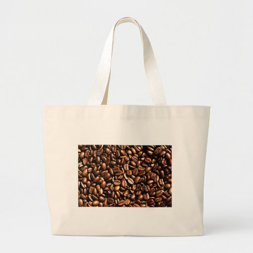 Coffee beans canvas bags