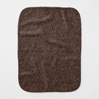 Coffee Beans Burp Cloth