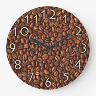 Coffee Beans Cafe Or Restaurant Wall Clock