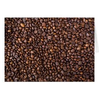 Coffee beans! card