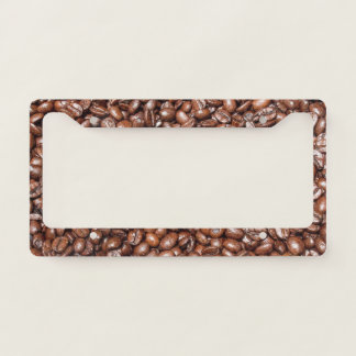 Coffee Beans Coffee Lover License Plate Licence Plate Frame