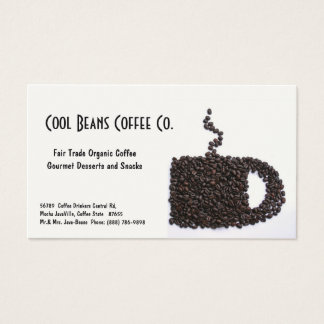 Coffee Beans Cup - Cool Beans!
