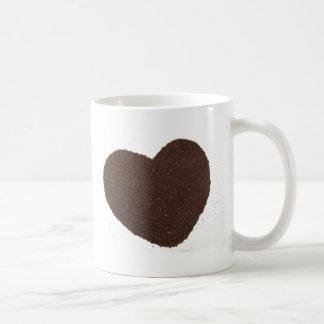 Coffee Beans, Grounded, Mug Love