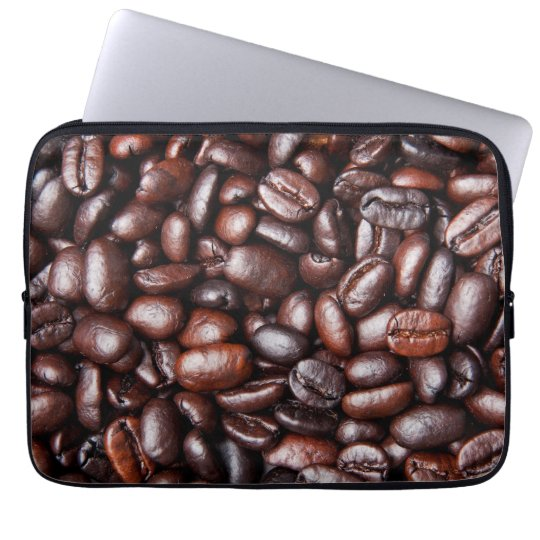 Coffee Beans - Java Bean Customised Templates Laptop Sleeve