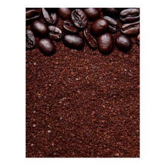 Coffee Beans - Java Bean Customized Templates Postcard