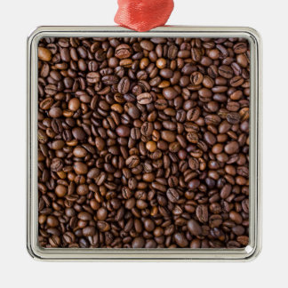 Coffee Beans! Metal Ornament