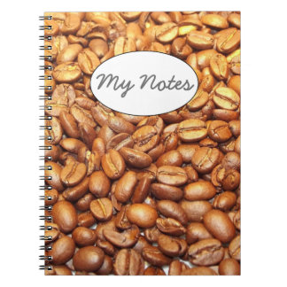 Coffee Beans Notebooks