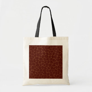 Coffee Beans Pattern Tote Bag