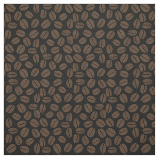 Coffee Beans Pattern Fabric