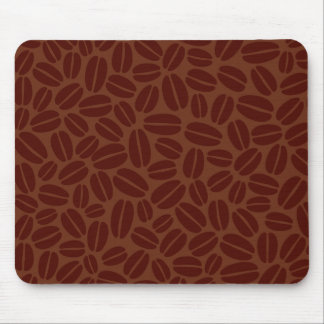 Coffee Beans Pattern Mouse Pad