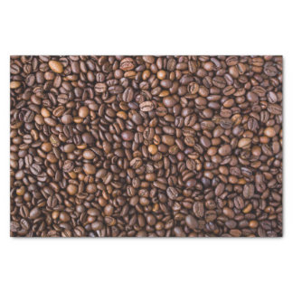 Coffee beans pattern tissue paper