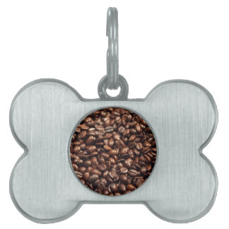 Coffee Beans Pet Tags