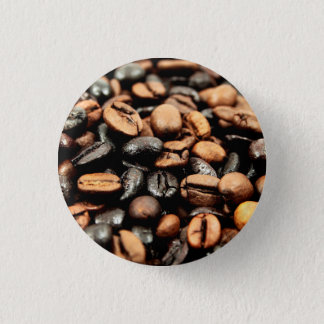 Coffee Beans Photography 3 Cm Round Badge
