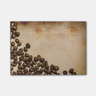 Coffee Beans Post It Notes