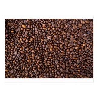 Coffee beans! postcard