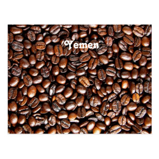 Coffee Beans Postcard