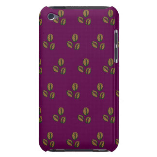 coffee beans purple barely there iPod case
