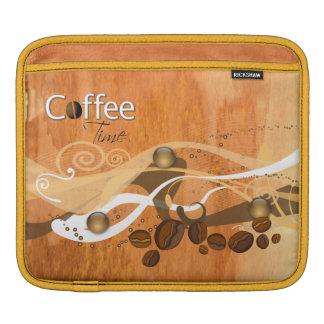 Coffee Beans  Rickshaw Sleeve iPad Sleeve