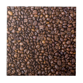 Coffee beans! tile