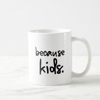Coffee- Because Kids Coffee Mug
