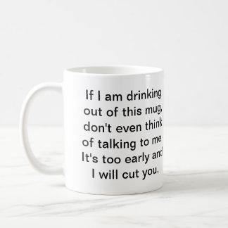 Coffee Before Safe Conversation Coffee Mugs