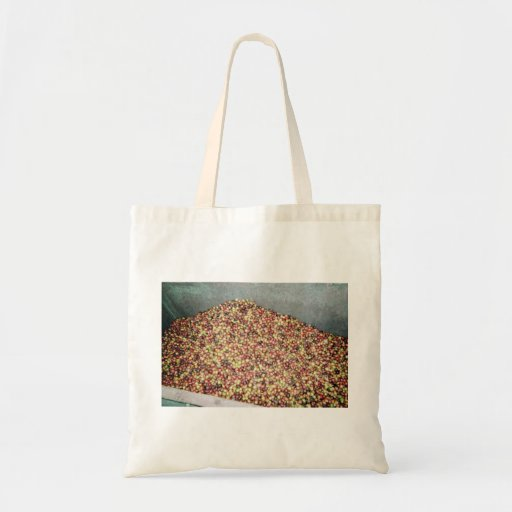 Coffee berrie canvas bag