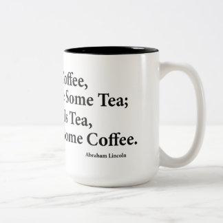 Coffee? Black 15 oz Two-Tone Mug