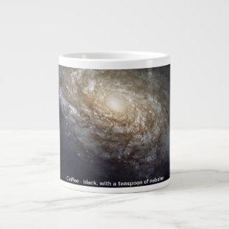 Coffee - Black - with a teaspoon of Nebulae Jumbo Mug