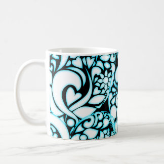 Coffee blue mosquito coffee mug