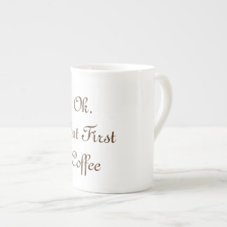 coffee bone china mug